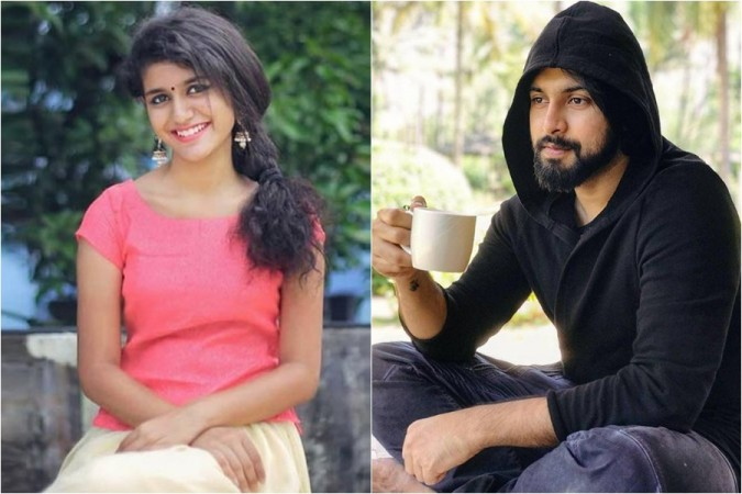 Priya Prakash Varrier and Chiranjeevi's son-in-law Kalyaan Dhev