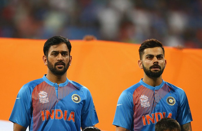 Kohli and Dhoni