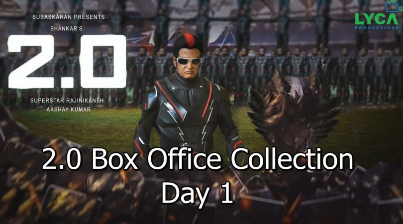 2.0 1st Day Box Office Collection
