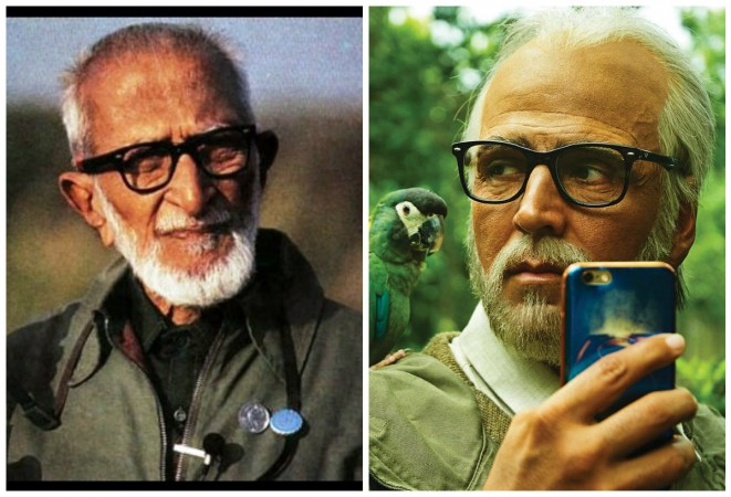 Is Akshay Kumar's character of Pakshi Rajan in 2.0 inspired from Salim Ali