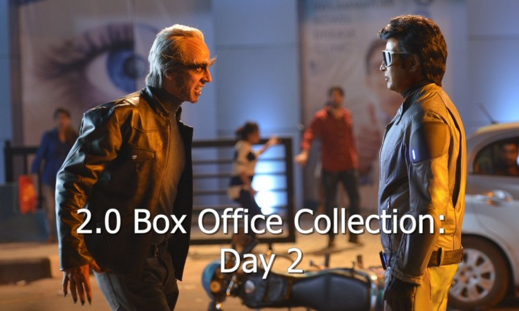 2.0 Second Day Box Office Collection