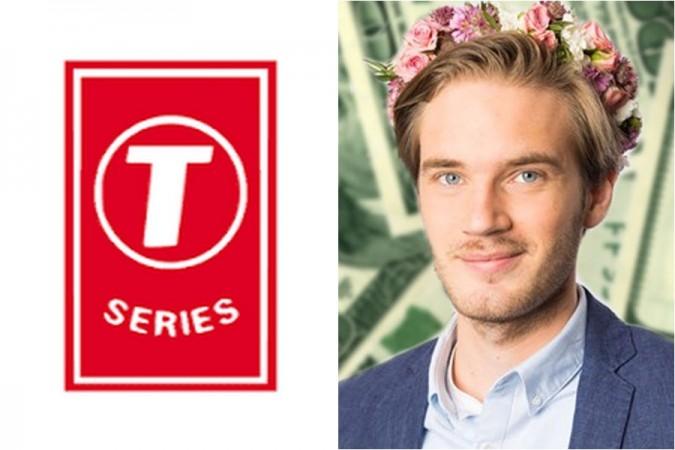 T-series, PewDiePie