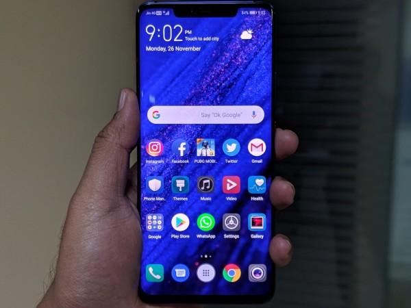 Huawei Mate 20 Pro display