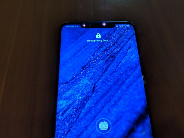 Huawei Mate 20 Pro has a better in-display fingerprint scanner