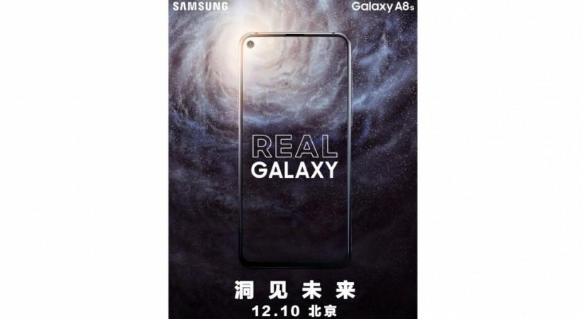 Samsung, Galaxy A8s, Infinity Display-O,