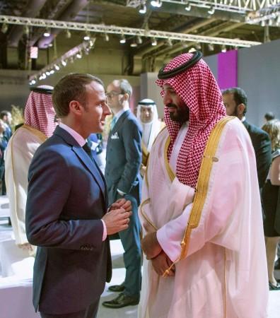 Macron Salman