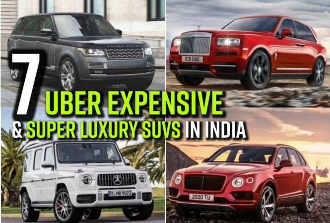 Super expensive, luxury SUVs in India