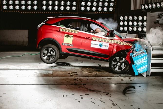Tata Nexon, Crash Test