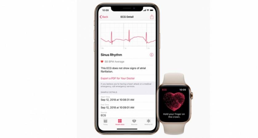 Apple, watchOS 5.1.2, ECG app, Watch Series 4