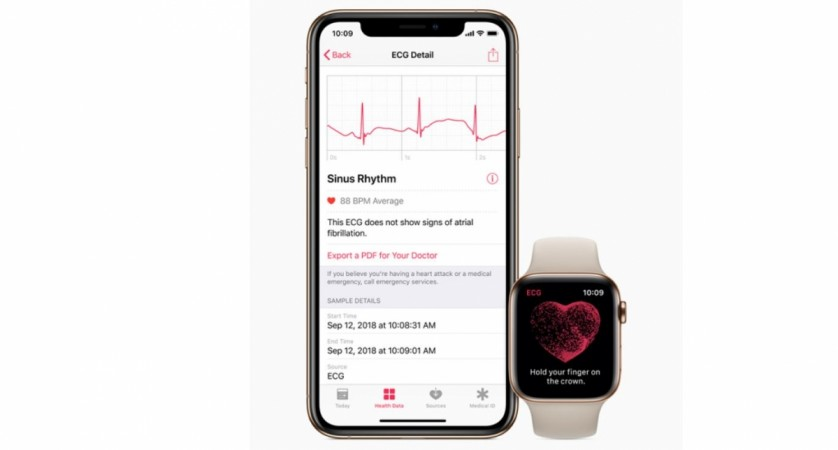 Apple, watchOS 5.1.2, ECG app, Watch Series 4