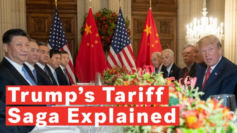 Donald Trumps Tariff Saga Explained