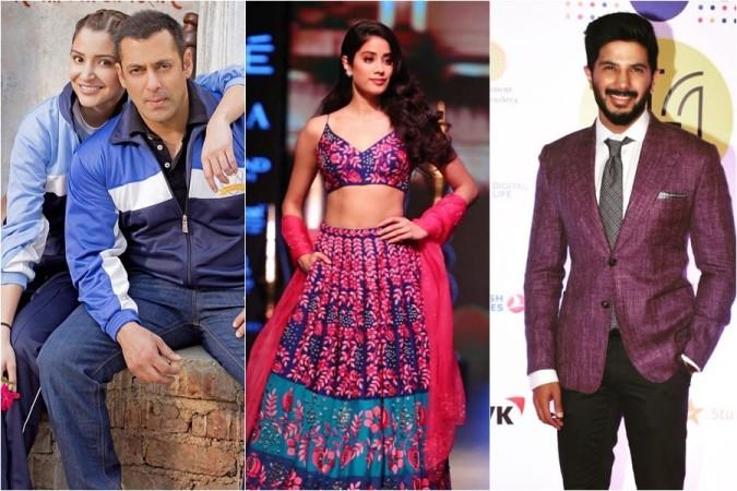 Anushka Sharma, Salman Khan, Janhvi Kapoor, Dulquer Salmaan