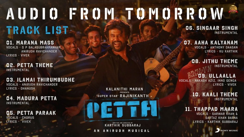 Petta audio launch live: Where to watch the songs-release