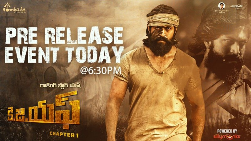 Kgf Pre Release Event Live Streaming Watch Ss Rajamouli Addressing
