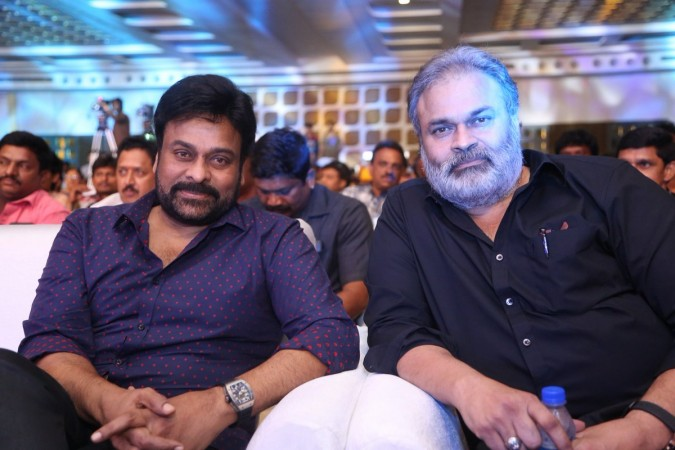 Chiranjeevi with his brother Nagababu