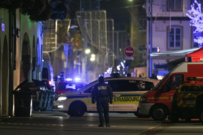 Terror attack at the Christmas market in the French city of Strasbourg