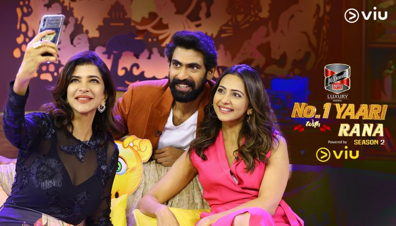 Lakshmi Manchu and Rakul Preet Singh on Rana Daggubati's No 1 Yaari season 2