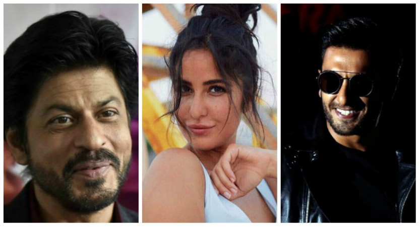 Shah Rukh Khan, Katrina Kaif, Ranveer Singh and others who were rejected for their looks