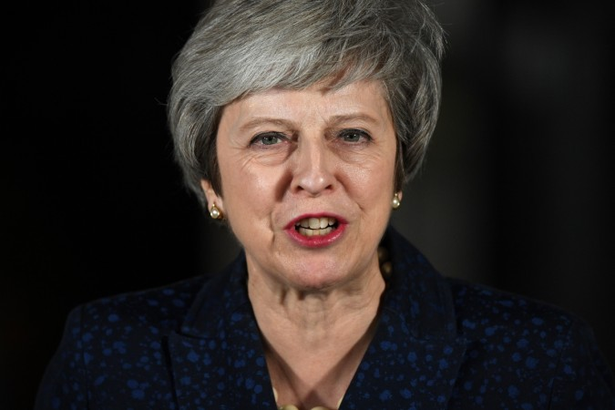 The British Prime Minister Wins The Vote Of No Confidence In Her Leadership