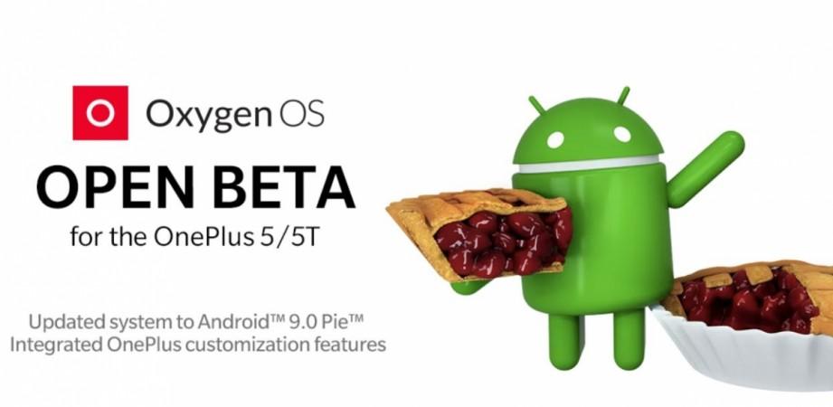 OnePlus, Android Pie, OxygenOS 9, OnePlus 5, Open Beta, OnePlus 5T