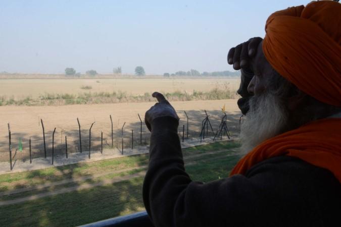 Nanak-Kartarpur Sahib corridor to the Kartarpur Sahib Gurdwara across the border