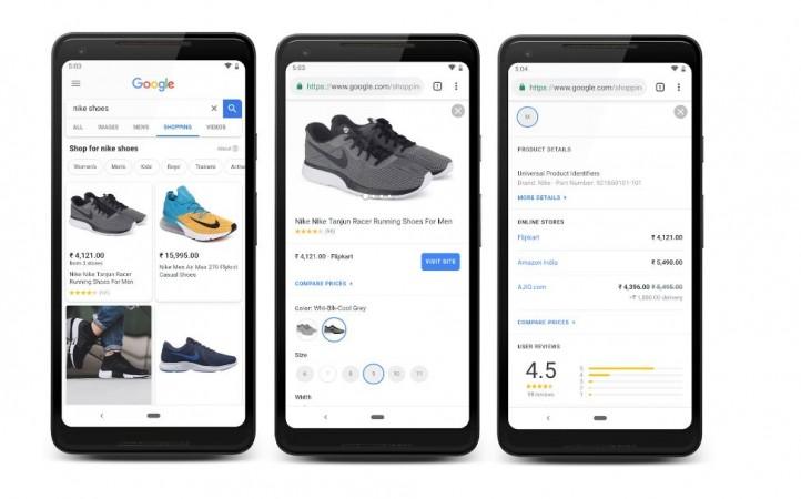 Google Shopping, Google Lens,India