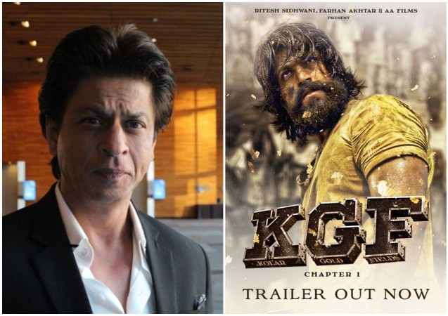 Shah Rukh Khan In Awe Of Kgf Trailer Wishes All The Best For Yashs