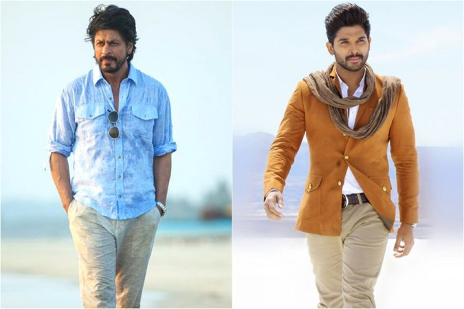 Shah Rukh Khan and Allu Arjun