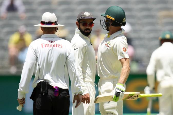 Virat Kohli Tim Paine India Cricket Team Australia cricket team