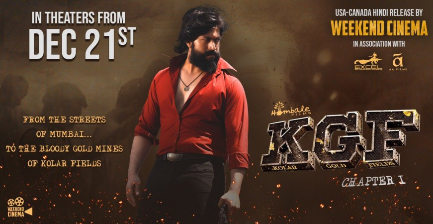 Kgf Leaked Online Rocking Stars Full Hd Movie Film Out On Torrents