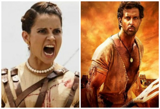 Is Kangana Ranaut's dialogue in Manikarnika copied from Hirthik Roshan's Mohenjo Daro
