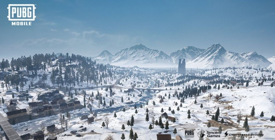 PUBG Mobile, Vikendi snow app, 0.10.0 update