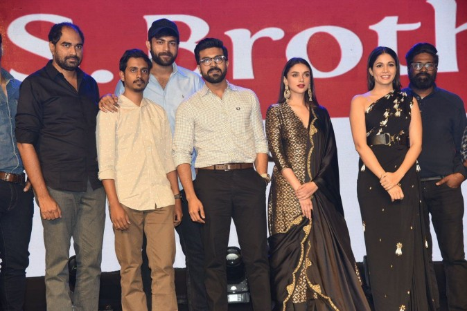 Ram Charan at Antariksham pre-release event