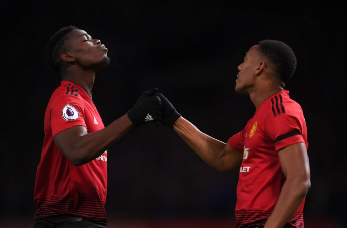 Anthony Martial Paul Pogba Manchester United