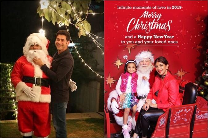 Mahesh Babu and Lakshmi Manchu celebrate Christmas