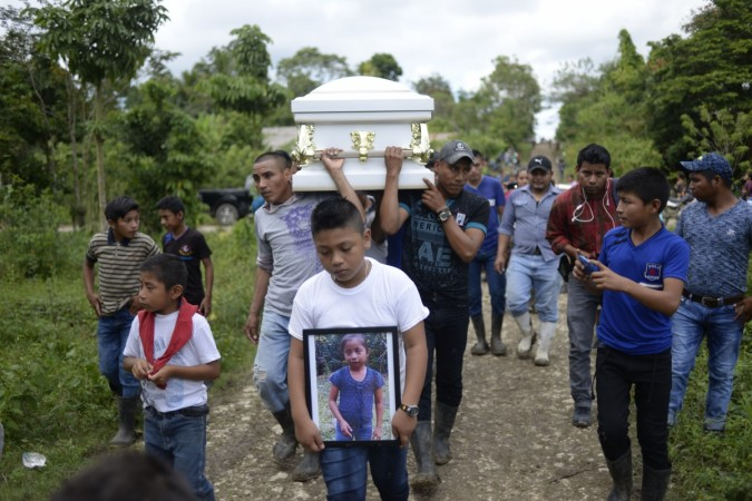 GUATEMALA-US-MIGRATION-GIRL-DEATH