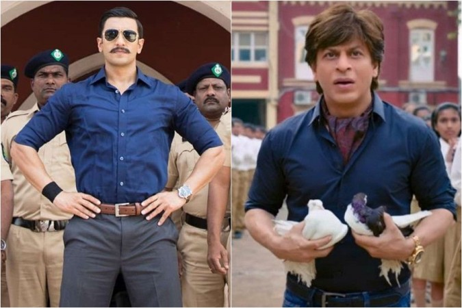 Ranveer Singh, Simmba, Shah Rukh Khan, Zero
