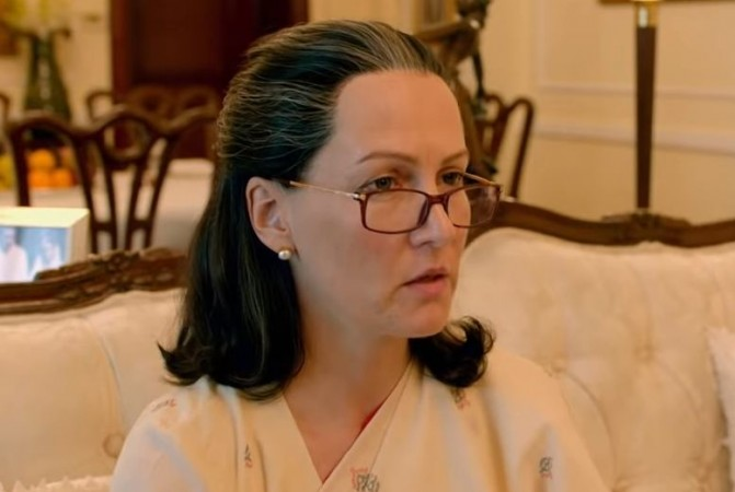 Suzanne Bernert as Sonia Gandhi in The Accidental Prime Minister
