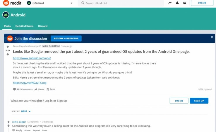Don't fall for rumours, there is no change in Android One programme