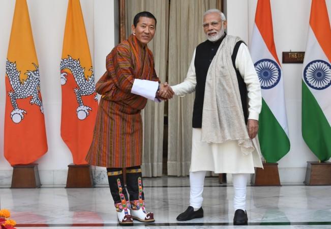 modi bhutan
