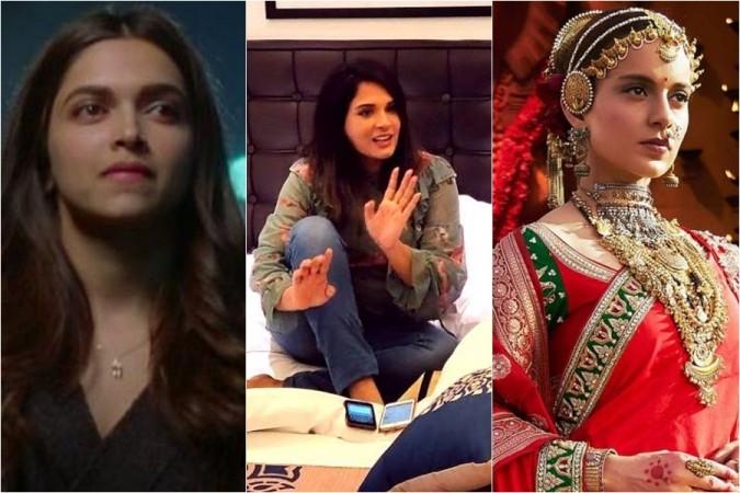 Deepika Padukone, Richa Chadha, Kangana Ranaut