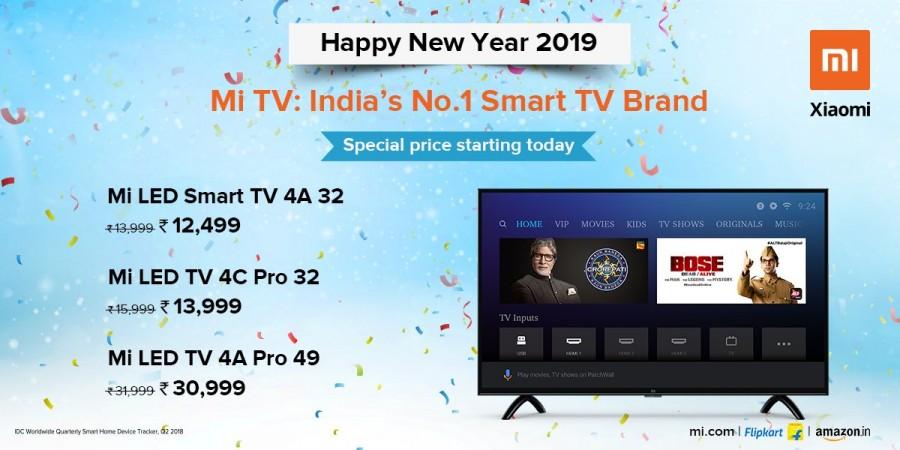 Xiaomi Mi TV prices dropped in India