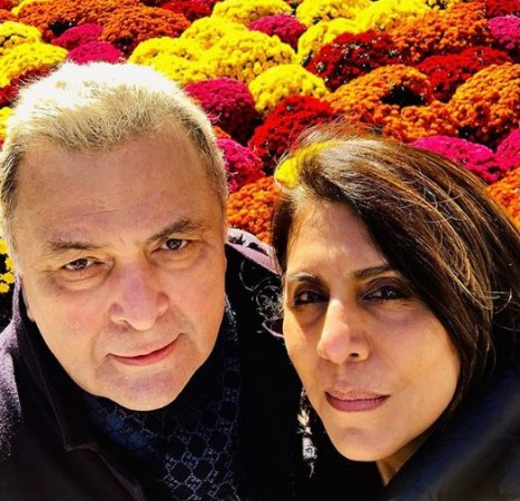 Rishi Kapoor's wife Neetu Kapoor hints at actor battling cancer