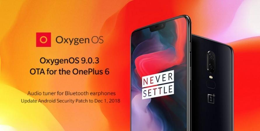 OnePlus, Android Pie, OxygenOS, 9.0.3, OnePlus 6