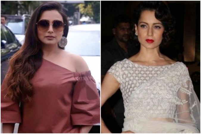 Kangana Ranaut reacts to Rani Mukerji's opinion on #MeToo