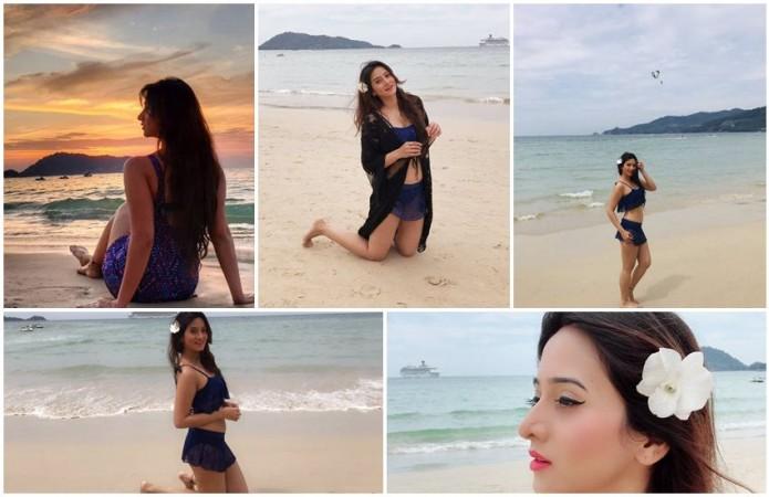 Harshika Poonacha Hot in Bikini