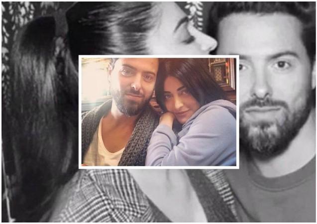 Shruti Haasan with her beau Michael Corsale