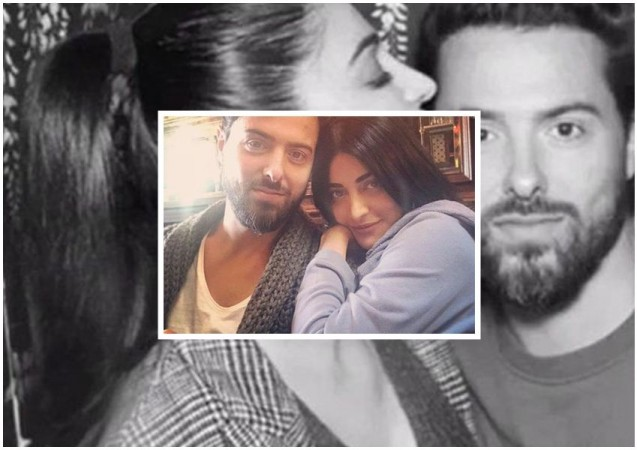 Shruti Haasan with her beau Michael Corsale