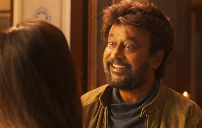 A colourful look of Rajinikanth in Petta