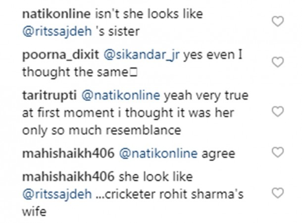 Aamir Khan's daughter Ira Khan gets mistaken for Rohit Sharma's wife Ritika Sajdeh